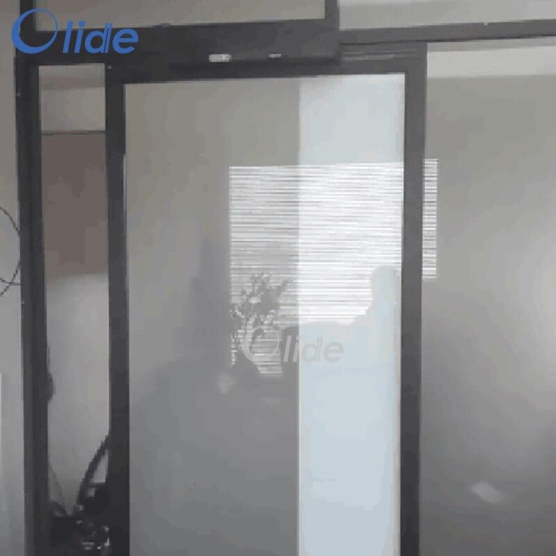 residential automatic sliding door operator black electric patio door opener