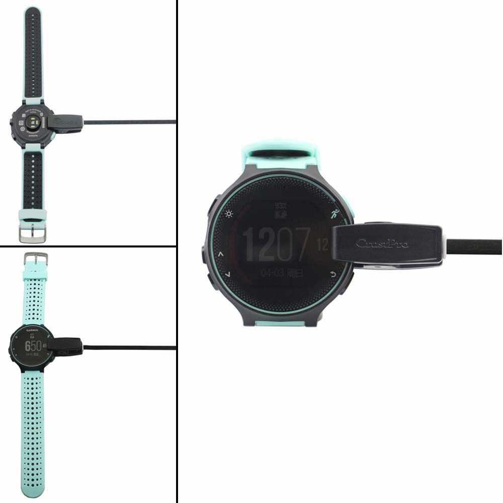 USB кабель для передачи данных USB клип Зарядное устройство Колыбели зарядной док-станции для Garmin Forerunner 235 630 230 735XT спортивные SmartWatch 76 см кабель usb