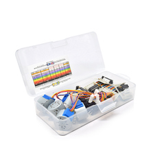 with Plastic box 10pcs/lot 28BYJ-48-5V 4 phase Stepper Motor+ Driver Board ULN2003 + female to male dupont cable for Arduino (China)