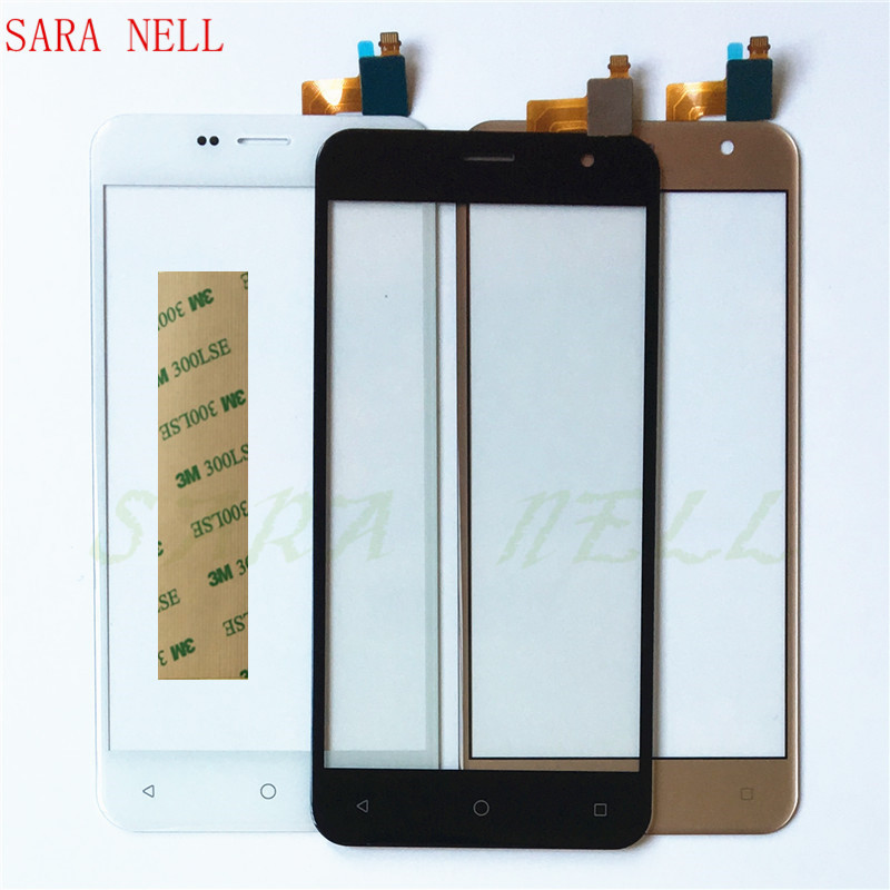 SARA NELL Phone Touchscreen For <font><b>Prestigio</b></font> Muze B3 <font><b>PSP3512</b></font> DUO PSP 3512 Touch Screen Sensor Digitizer Touchpad Panel Glass+tape image