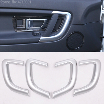 ABS Chrome Interior Door Handle Cover Trim For Land Rover Discovery Sport Car-Styling 2015-2017 Car Accessories and Auto Parts