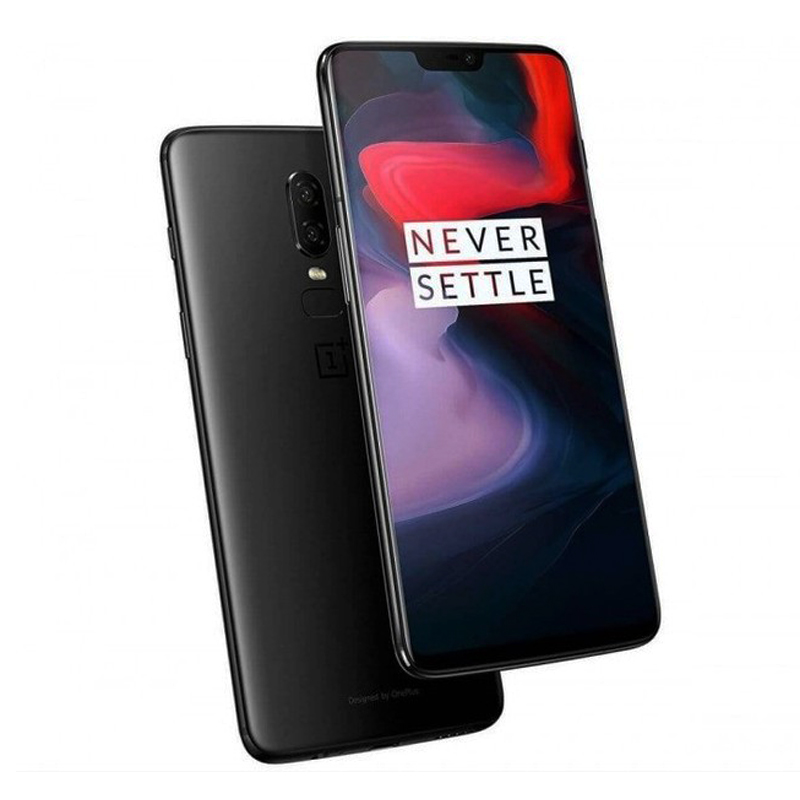 2018 New Original Oneplus 6 6GB 64GB Snadragon 845 Octa Core Dual Rear Camera Face Unlock  Android 8.1 LTE 4G Moblie Phone NFC