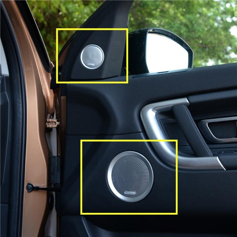 Inner Car Door Speaker Cover Trim For Land Rover Discovery