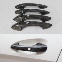 Carbon Fiber Door Handle Cover For Benz A B C E S GLA GLK CLA CLS GL GLS Class W176 W246 W218 R176 W204 W117 W212 X156 X166