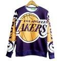 Бесплатная доставка! осень Новые моды для Женщин Мужчины Баскетбол Одежда 3D/Galaxy кофты толстовки свитера Топы