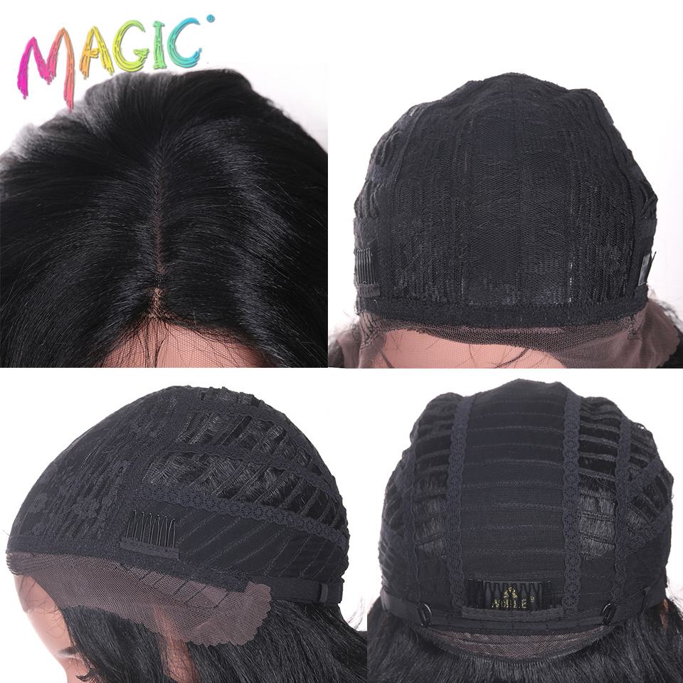 Magic Hair Hand Tied Long Loose Wavy Hair 24 Inch Blonde Grey Color