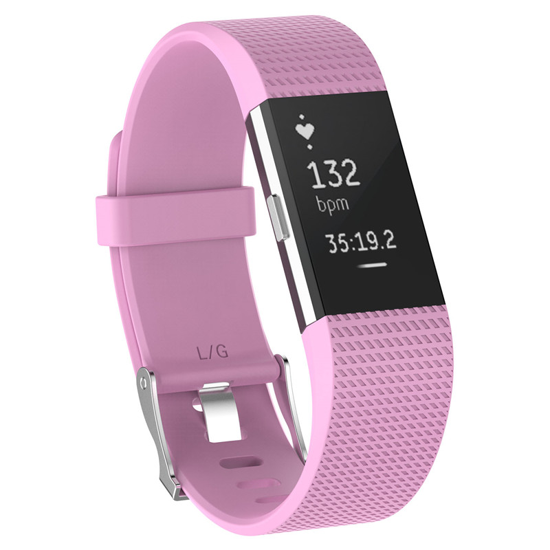 Wristband Wrist Strap Smart Watch Band Strap Soft Watchband Replacement Smartwatch Band For Fitbit blue YURIE2 11