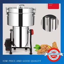 4500G BIG Capacity Home Use Pulverizer Machine 50-300mesh Flour Pulverizer Powder Machine xy 3500b 4500g big capacity electric flour mill powder machine