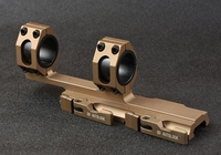 QD Auto Quick Release Detach for 20mm Picatinny Rail Rifle Square Stop Pin Scope Mount 30mm 25mm Rings TAN M2830