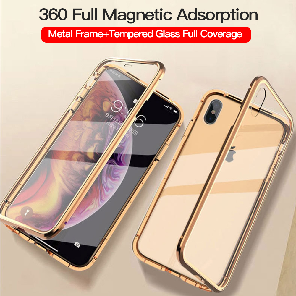 iphone xs max double sided case