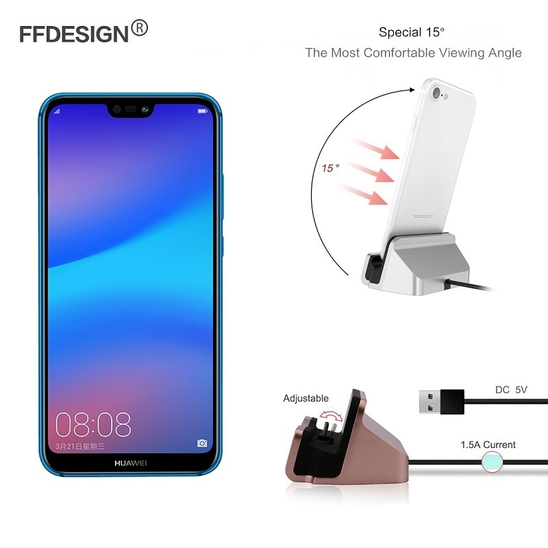 Usb Phone Charger For Huawei P20 Lite Dock Pro P10 P8 P9 2017 Station