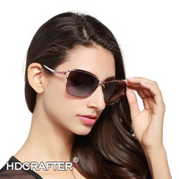 2016 New Women Aviator Polarized Sunglasses Middle Size Alloy Frame Glasses Brand Designer Fashion Shades Gafas