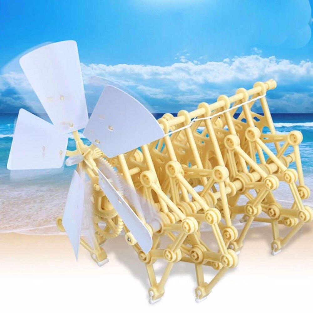Kits Modelo de Construção eólico diy andar walker mini Tipo : Wind Powered Diy Toys