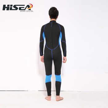 Neoprene 3MM Scuba dive Wet suit men Wetsuit Equipment Snorkeling Jumpsuit One piece long sleeved Triathlon Spearfishing Surf