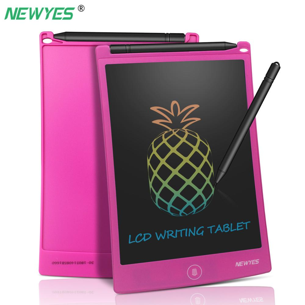 NEWYES 8.5inch Colorful LCD Writing Tablet Electronic Drawing Graphics Board Digital Handwriting with stylus pen Birthday Gift