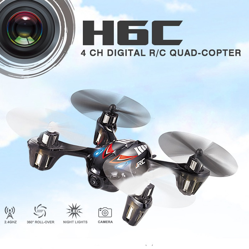 Jjrc H6c Mini Drones With Camera Hd Micro Quadcopters With Camera Flying Helicopter Camera Professional Drones Rc Dron Copter rc drones quadrotor plane rtf carbon fiber fpv drone with camera hd quadcopter for qav250 frame flysky fs i6 dron helicopter