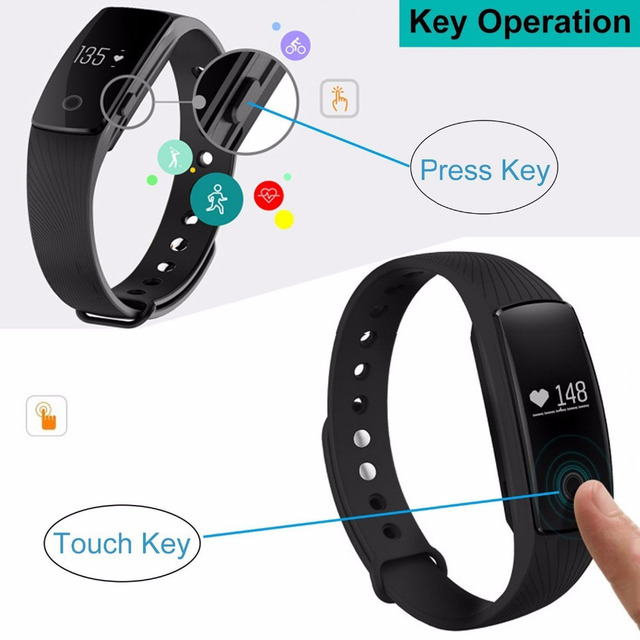 Smart Band Smart band Heart Rate Monitor Wristband Fitness Flex Bracelet for Android iOS PK xiomi mi Band 2 fitbits