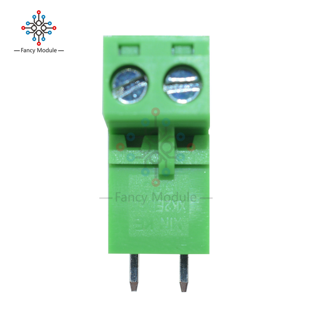 10Pcs Plug-In KF-2P 5.08MM Pitch Terminal Connector Right-Angle KF2EDGK New I li