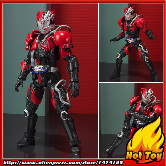 Original BANDAI Tamashii Nations S.H.Figuarts (SHF) Exclusive Action Figure - Super Dead Heat Drive from Kamen Rider Drive