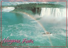 Free Shipping 78*54*3mm,Canada Niagara Falls Postcard Magnets 20352 Rigid Plate Tourist Memories neil sedaka niagara falls