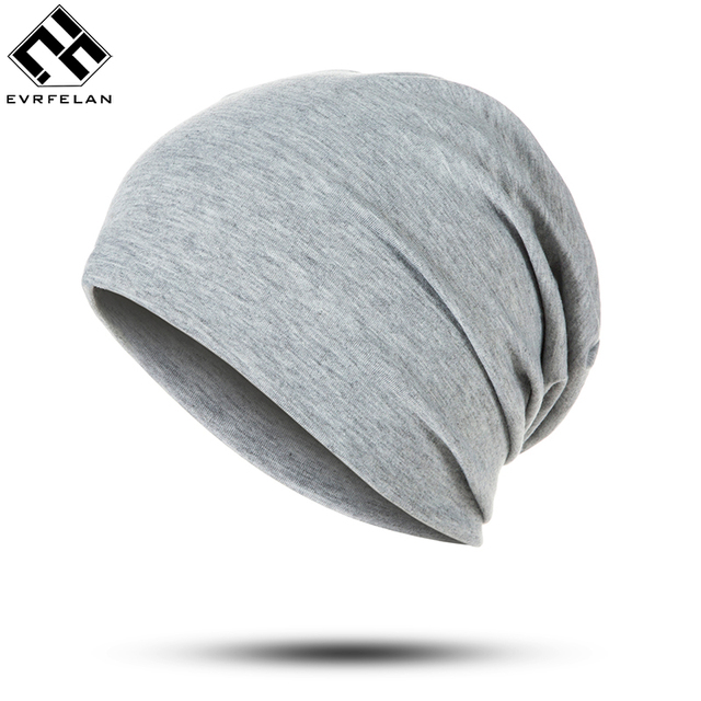 Cheap Hat Women Winter Beanies Knitted Warm Hat Vintage Black Cotton Solid  Casual Skullies Outdoor Caps 4c75a06dff5