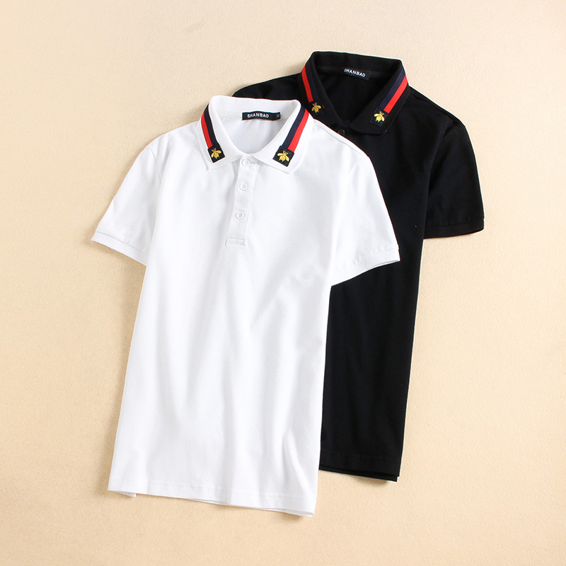 Image 5 - White Black 2019 New England Designer US Polo Shirts For Men 