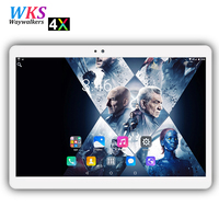2018 Free Shipping 2 5D Screen 10 Inch Android 7 0 Tablet Pc 10 Core 4GB