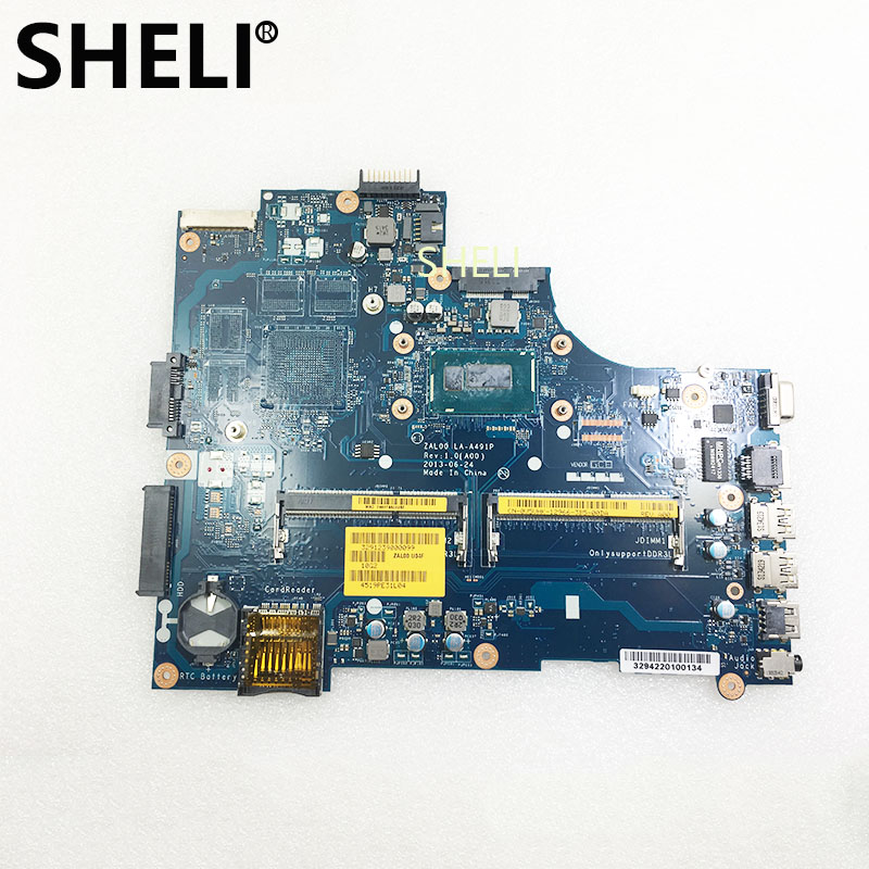 SHELI For <font><b>Dell</b></font> <font><b>3540</b></font> Motherboard with I5-4300U LA-A491P CN-0V5VHK 0V5VHK V5VHK image