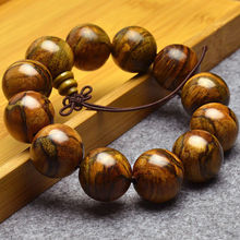 Здесь можно купить   MOROW Handmade Fashion Natural Agar-wood Sandalwood Round Buddha Beads Women Mens Charm Bracelet Jewelry 1.2 to 2.0cm for Gift Fashion Jewelry