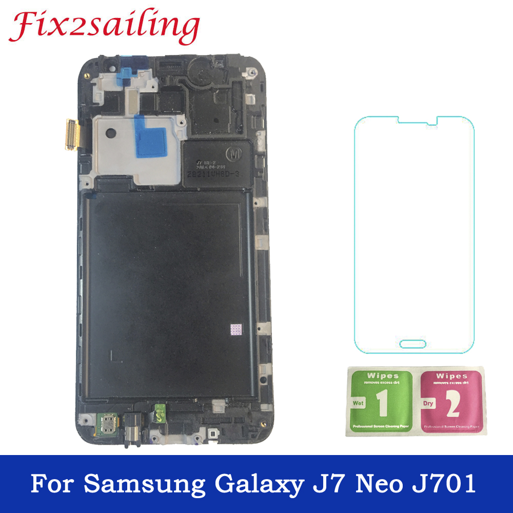 5.5 inch Display Screen For Samsung Galaxy J7 Neo J701 J701F J701M LCD Display Touch Screen With Frame Phone LCD Free Shipping5.5 inch Display Screen For Samsung Galaxy J7 Neo J701 J701F J701M LCD Display Touch Screen With Frame Phone LCD Free Shipping