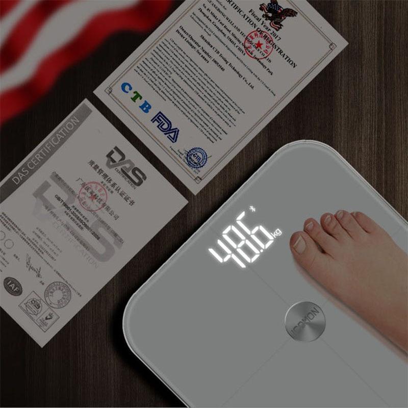 Original Pre mi um Smart Bad Körper Fett Gewicht Waagen Boden mi Körper Zusammensetzung Skala Digitale Balance Bluetooth Waage - 3