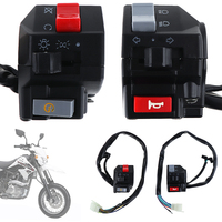 2pcs Universal 7 8inch Motorcycle Handlebar Horn Turn Signal Light Controller Switch