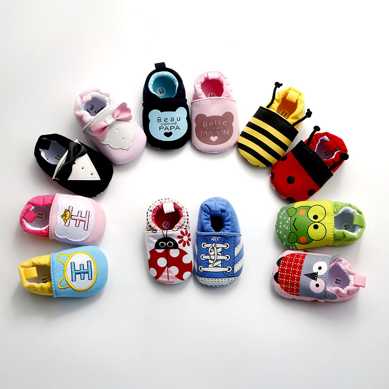 Nieuwe collectie baby baby cartoon schoenen 0-18 m jongens meisjes - Baby schoentjes - Foto 2