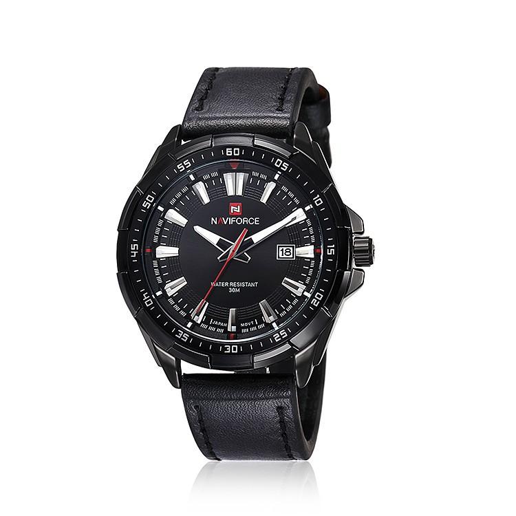 Mens Watches Top Brand Luxury NAVIFORCE Sport Men's Quartz Watch Waterproof Wristwatch Leather Male Clock Relogio Masculino 13