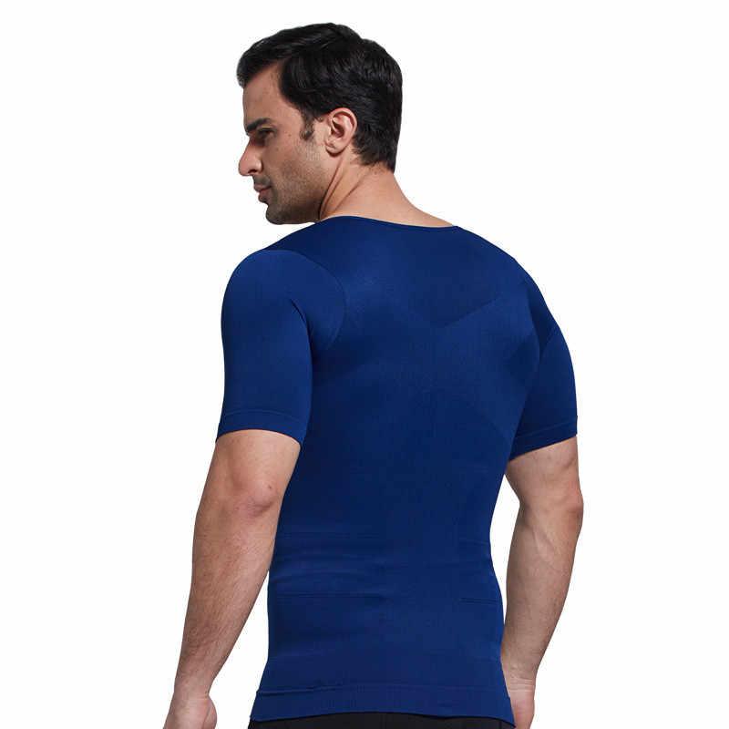 Компрессионные футболки для Похудения Body Shaper Черный корсет под грудь осанки пояс для поясницы жиросжигатель триммер трико утягивающее белье