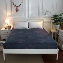 Одноцветные простыни, простыни из полиэстера с резинкой, Заводская распродажа, постельное белье, наматрасник, размер 180x200 см, 200x220 см