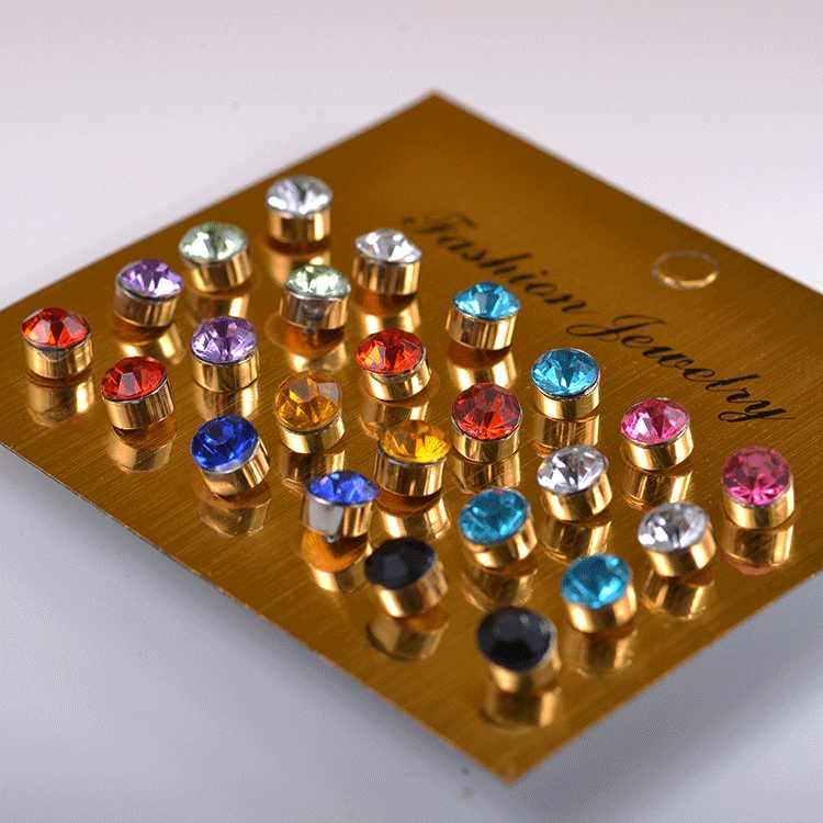 12 pares Simulado Pérola Brincos Set For Women Jóias On Ear Stud Bola Brincos kit de Bijouteria brincos Bijoux