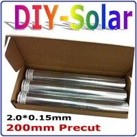 الخلايا الشمسية تبويب سلك 200 ملليمتر قبل القطع القطع ، 156 ملليمتر بولي الخلايا الشمسية أحادية pv الشريط ، 1 كيلوجرام الخلايا الشمسية الألواح ال...