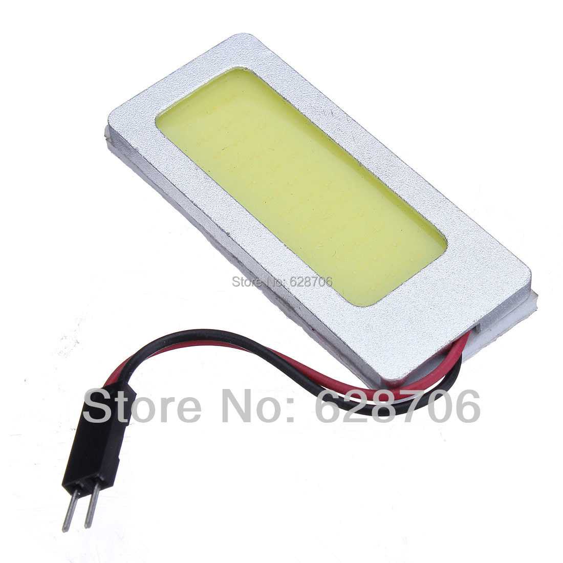 High Power 8W White 36 chips COB LED Dome Reading Light Panel Interior Bulb Lamp T10 Festoon BA9S DC 12V image