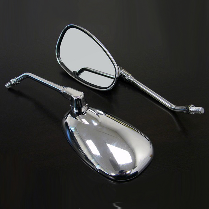 RPMMOTOR Untuk YAMAHA Vmax Virago 535 V-Star 650 1100 1300 Warrior Royal Star Side Mirrors Motorcycle Rear view cermin
