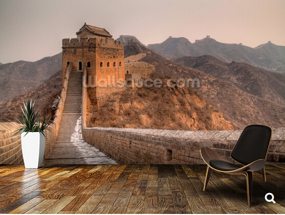 China great wall promotion shop for promotional china for Chinese mural wallpaper