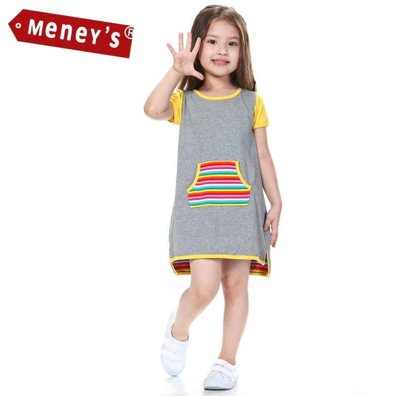 New 2016 Summer Dresses for Girls T shirts Dresses for ...