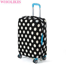 Fashion Travel the Road Luggage trolley Protective Cover  High Quality Elasticity Travel Box Sets(18-30Inch)