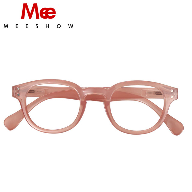 2019 Brand Reading Glasses spring new Pink Retro Europe style Men women readering glasses with flex French concept 1513