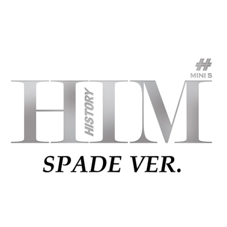 HISTORY 5TH MINI ALBUM - HIM (SPADE VER.) Release Date 2016.04.12 KPOP ALBUM kgb fx 5 ver 2 модуль saturn multican 400 mini