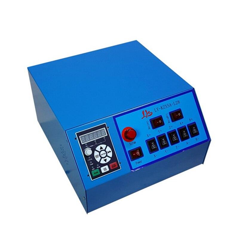 Port USB!! 3D CNC routeur 6040 4 axes CNC fraiseuse avec 1.5kw spinlde, interrupteur de fin de course, vis à billes CNC graveur + 4 pièces pinces - 5
