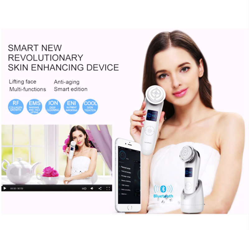 Highest Sales !Smart Skin Rejuvenation  Device Beauty Nanoskin Face Wrinkle And Anti-aging Device Make Your Skin Firmer