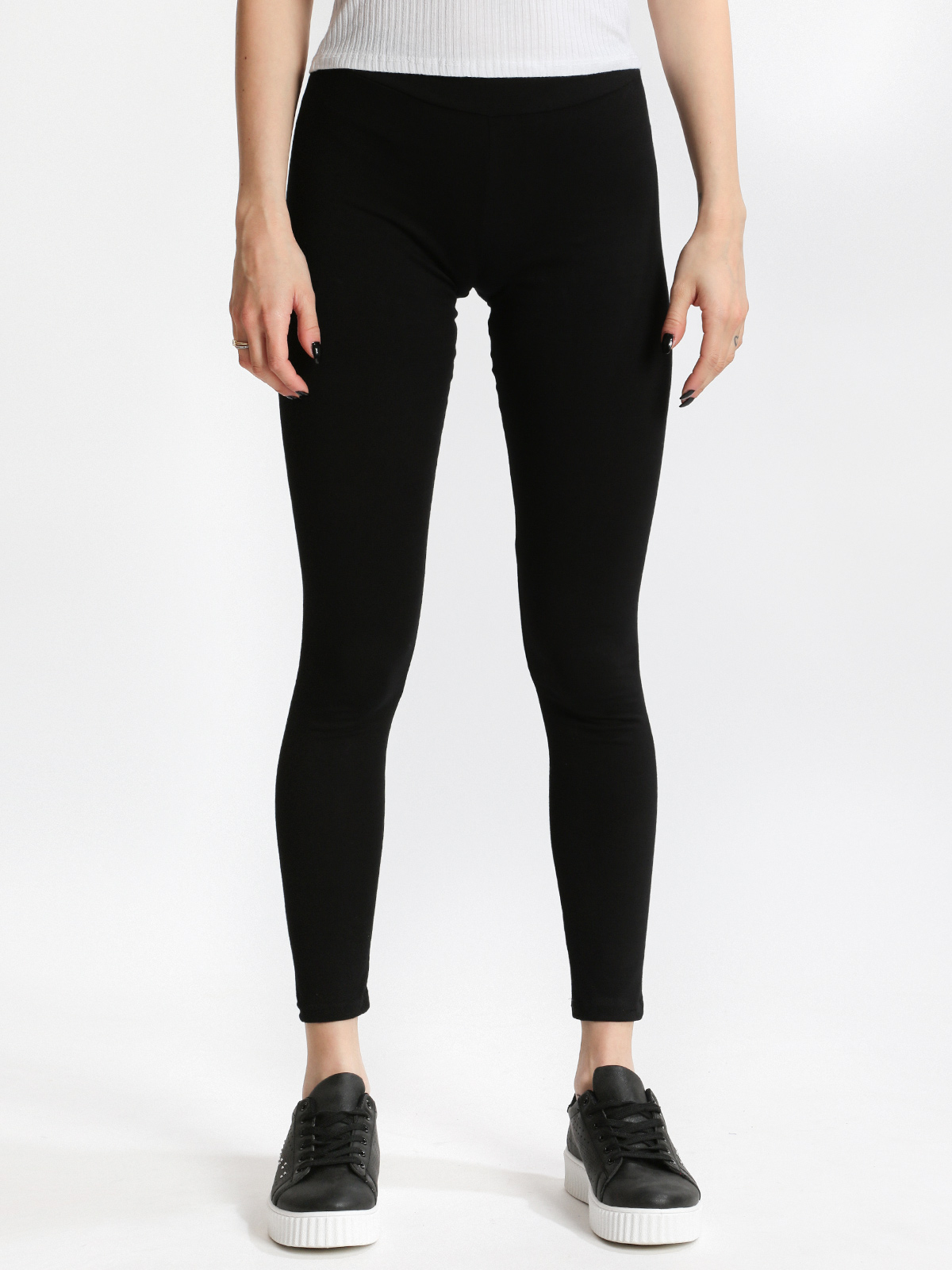 Black Leggings Cotton