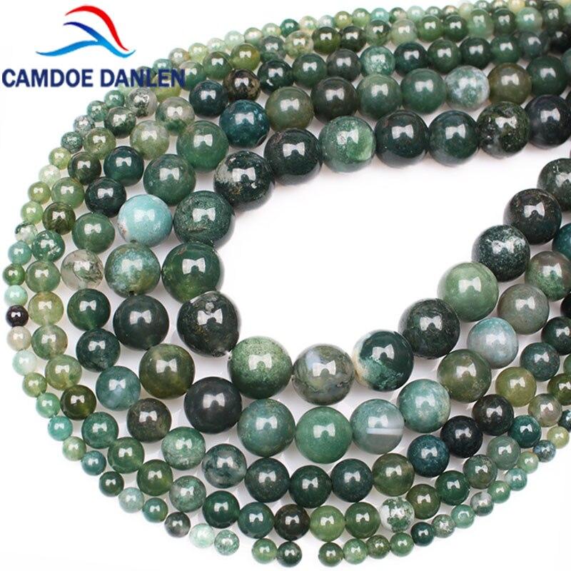 10 perles semi précieuses gemmes AGATES 8mm rose ////30