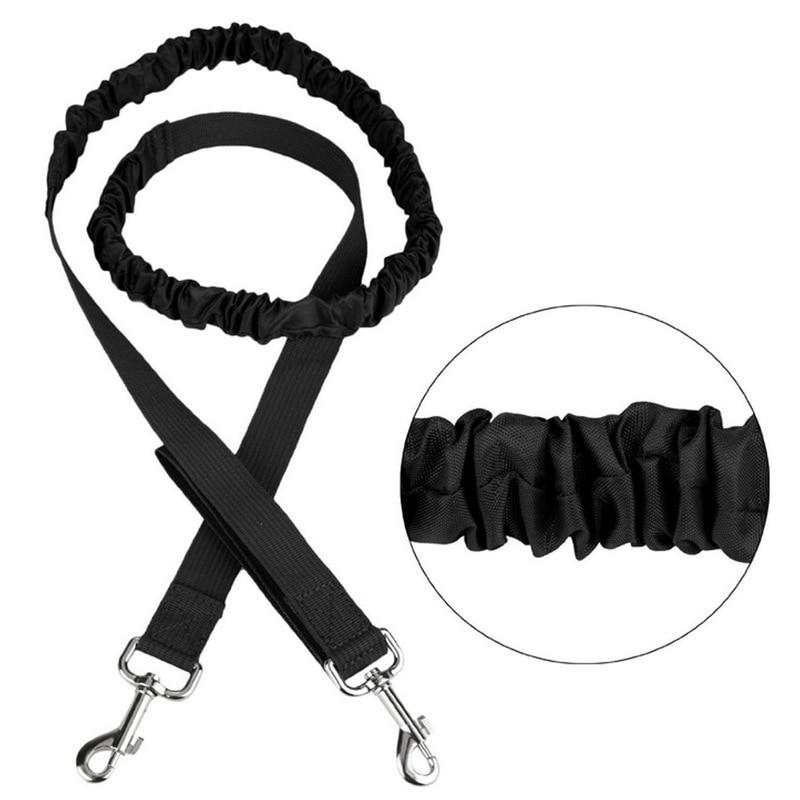 Elastic Dog Traction Belt Rope Set Dog Leash Pet Run with Keeper Pets Sport Leash With Belt  Reward Bag Debris Storage Bag Kits6